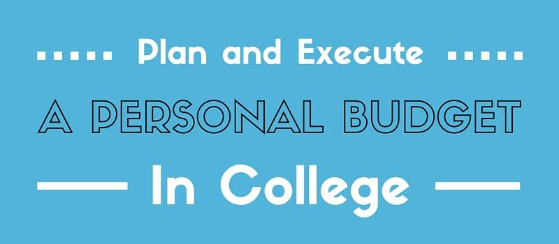 plan execute personal plan in college
