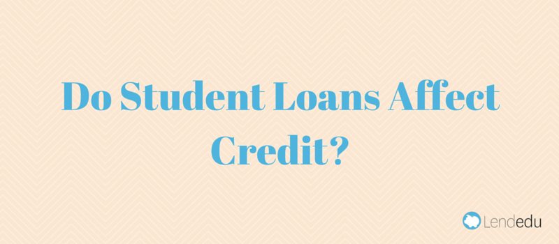 the affects of student loans on consumer credit