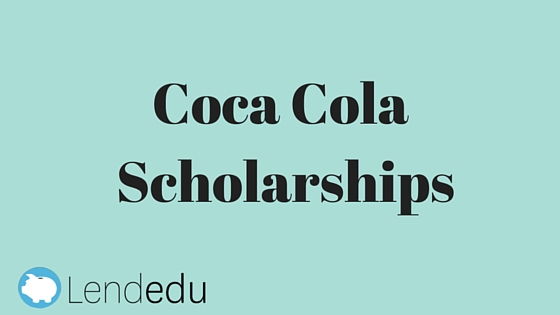 coca cola essay scholarship Coca-cola scholars foundation in evaluating the sample application in order to be considered for the next stage of this scholarship.