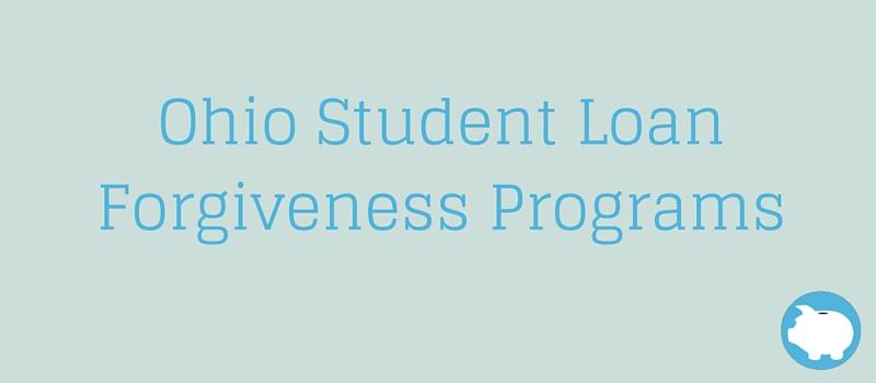 Ohio State Loan Forgiveness Programs