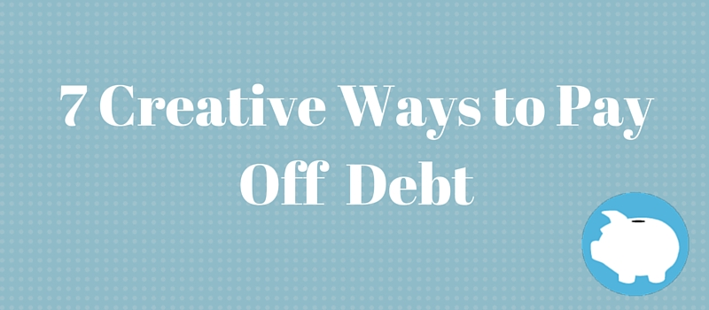 clever ways to pay off debt