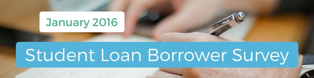 January student loan borrowers survey