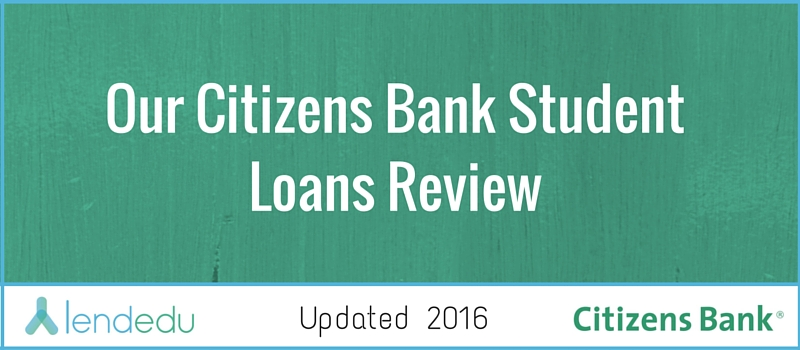 Citizens Bank Personal Loan