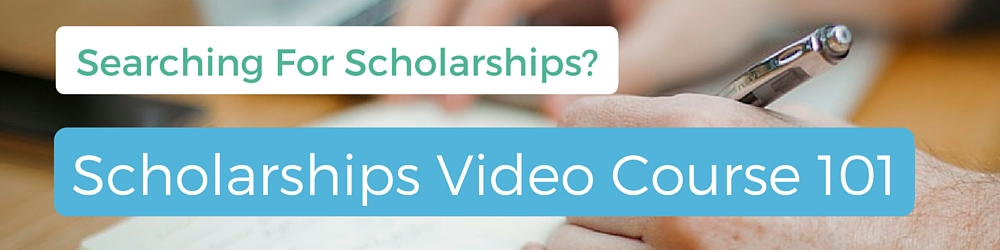 Scholarship Video Course