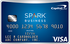 Capital e Spark for Business Credit Card LendEDU
