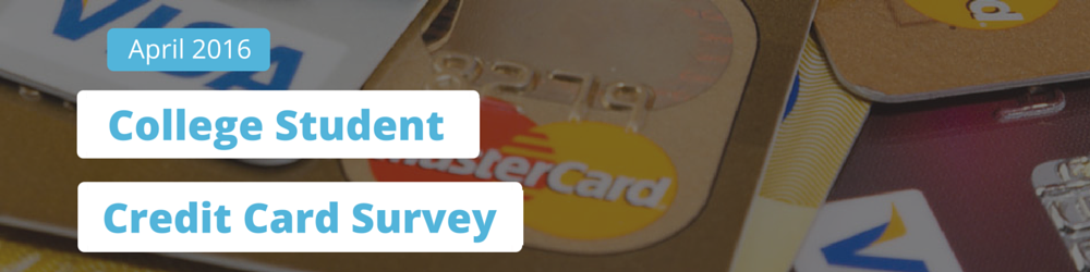 college student credit card survey banner
