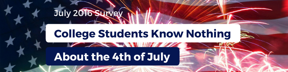 Fourth of July Survey Banner