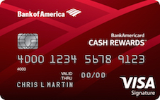 BankAmericard Cash Rewards Visa Signature