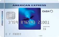 blue cash preffered amex best cash back credit cards