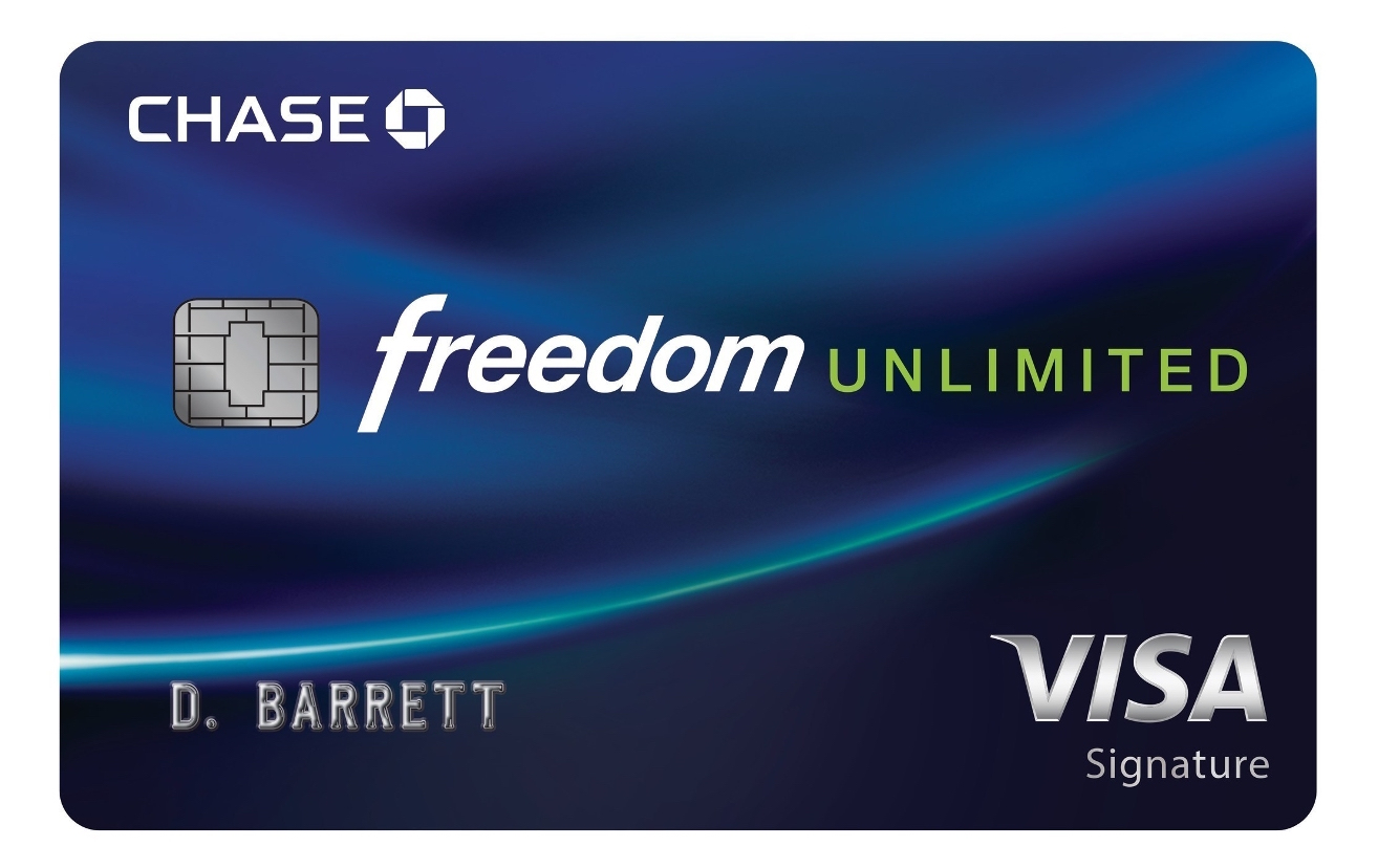chase freedom unlimited best cash back credit cards