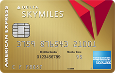 gold delta sky miles credit card