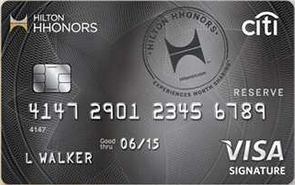 hilton hhonors credit card american express