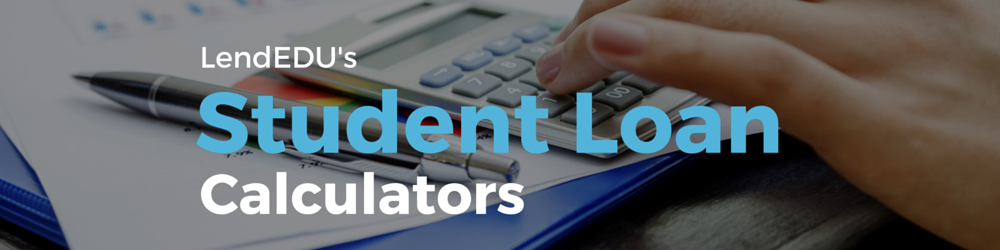 student loan calculators banner
