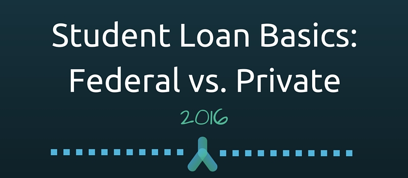 Student Loan Basics: Federal vs Private
