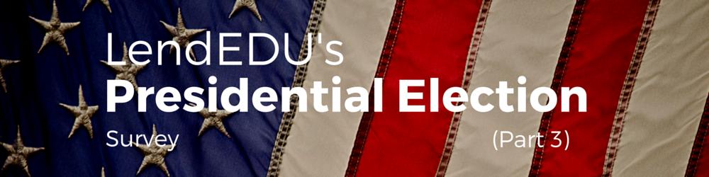 lendedu august presidential poll