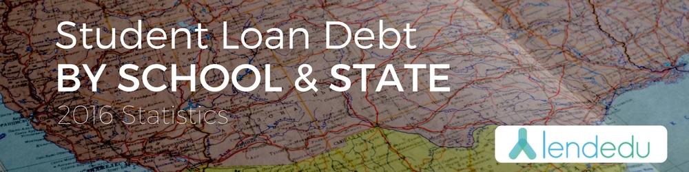 Student Debt By State By School Statistics