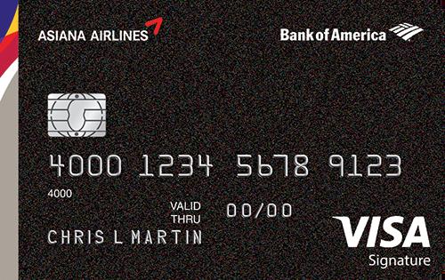 Asiana Airlines Visa Signature Card