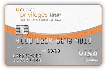 Choice Privileges® Visa Signature® Credit Card