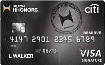Citi® Hilton HHonors™ Visa Signature Card