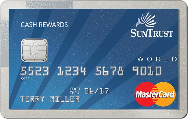 SunTrust Cash Rewards MasterCard
