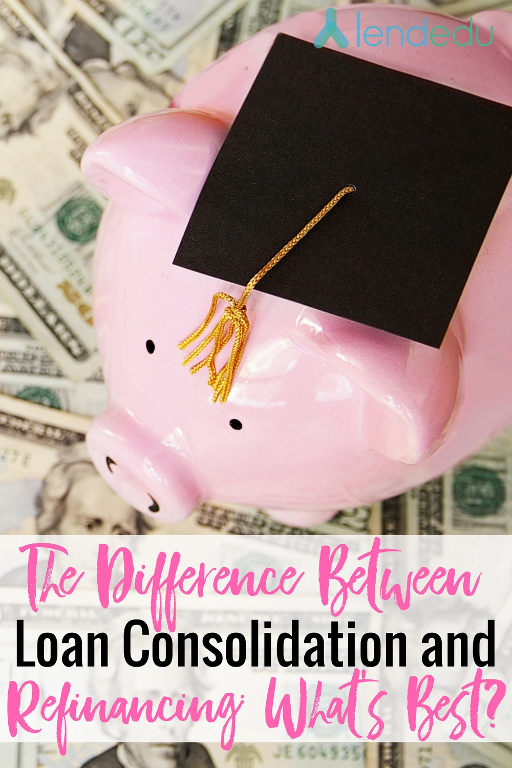 the difference between loan consolidation and refinancing