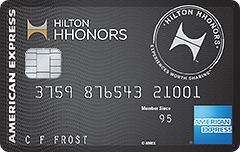 Hilton HHonors Surpass Card from American Express