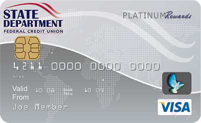 State Department EMV Savings Secured Visa Platinum Card