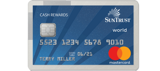 SunTrust Cash Rewards MasterCard Review
