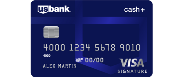 US Bank Cash+ Visa Signature Credit Card Review