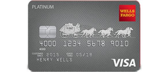 Wells Fargo Platinum Visa Card Review