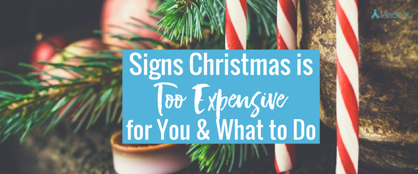 Christmas is Too Expensive