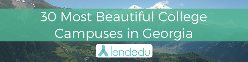 30 most beautiful college campuses in georgia