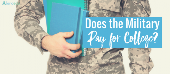 Does the Military Pay for College_