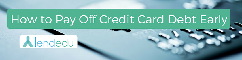 how pay off credit cards
