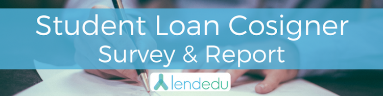 student loan cosigner survey
