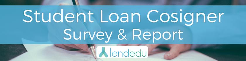 student loan cosigner survey