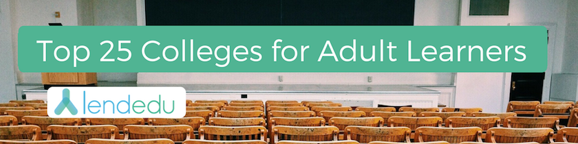 top 25 colleges for adult learners