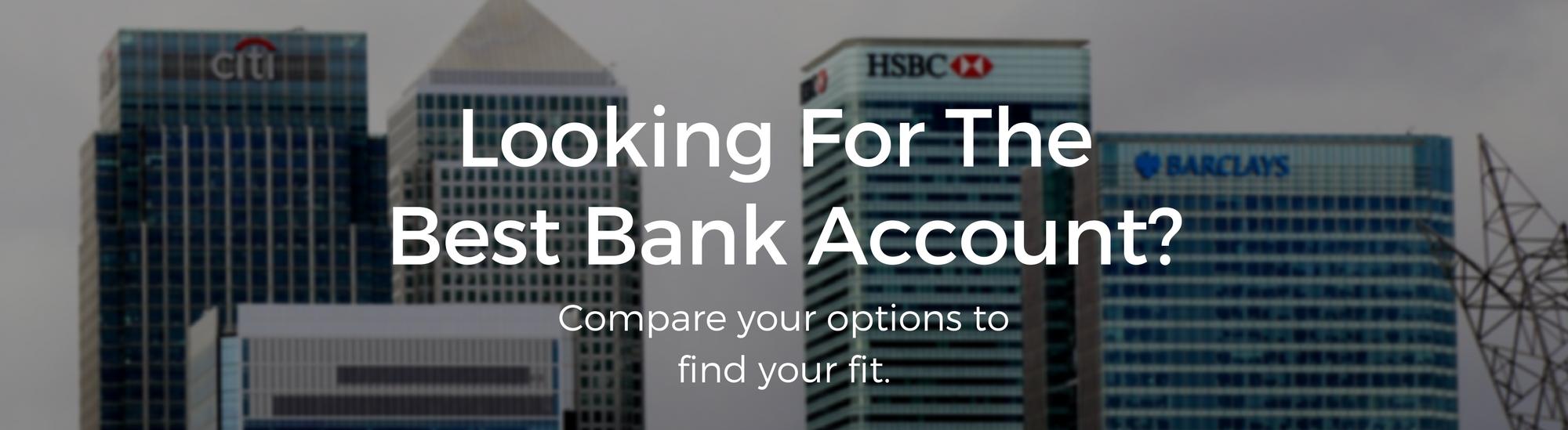 best bank account