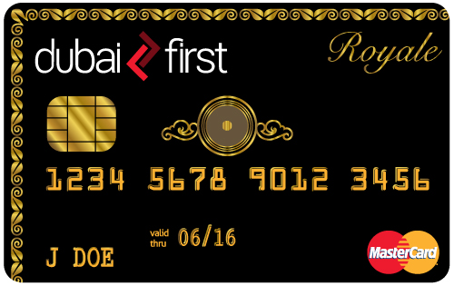 dubai first royal credit card