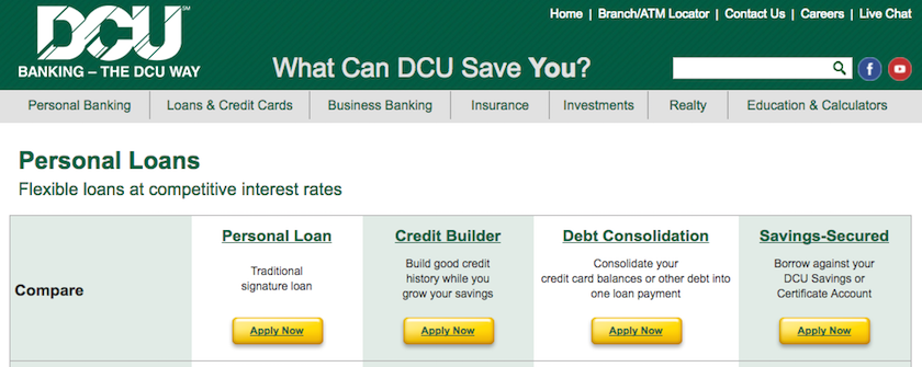 DCU Personal Loans Review