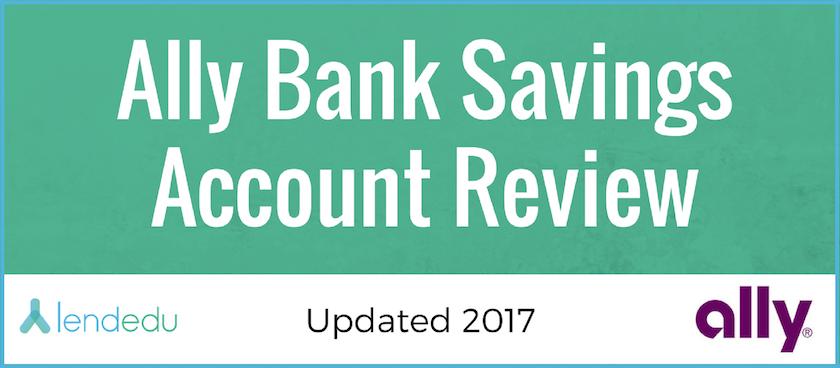 Ally Bank Savings Account Review