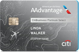 Citi AAdvantage Platinum Select World Elite Credit Card