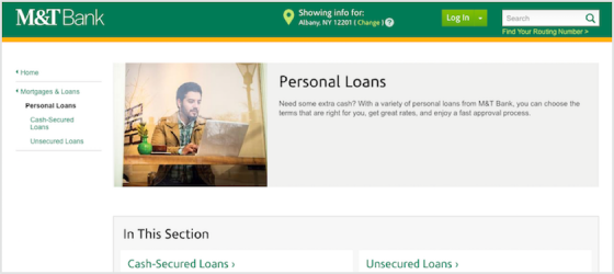 M&T Bank Personal Loans Review
