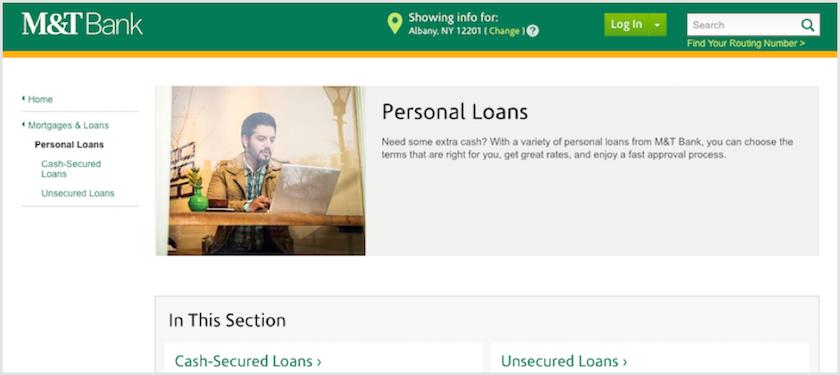 Albany Bank Personal Loans