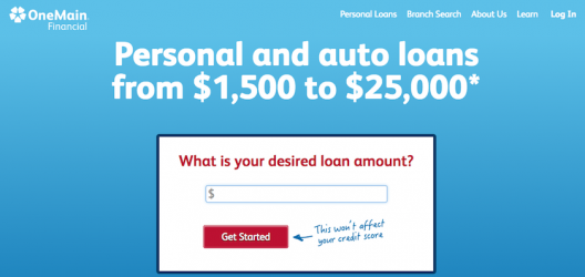 One Main Financial Personal Loans Review