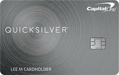 Capital One Quicksilver Rewards Credit Card