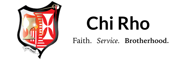 Chi Rho Associations Logo