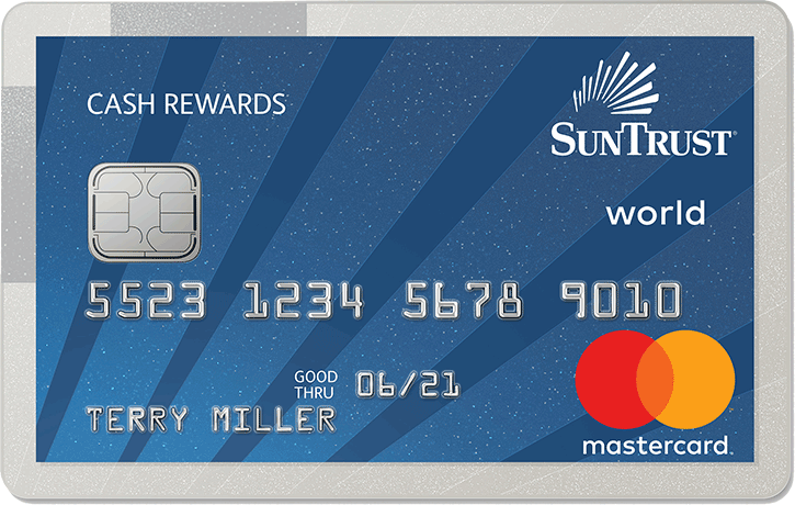 SunTrust Cash Rewards Mastercard