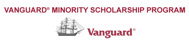 The Vanguard Minority Scholarship Program Logo