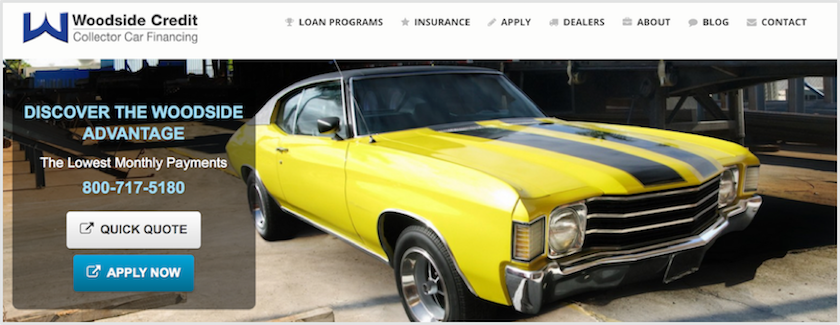 Woodside Credit Collector Car Financing Review